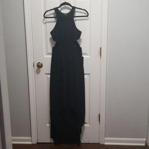 Long Black Express Dress